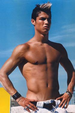 Cristiano Ronaldo convertido en icono gay