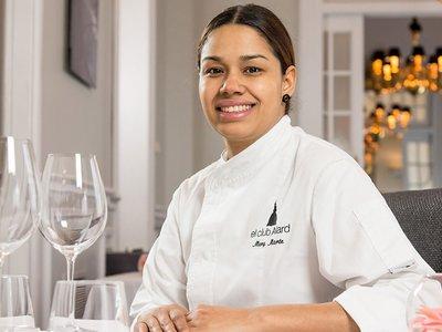 La chef María Marte deja el Club Allard (y sus dos estrellas Michelin) por un proyecto solidario