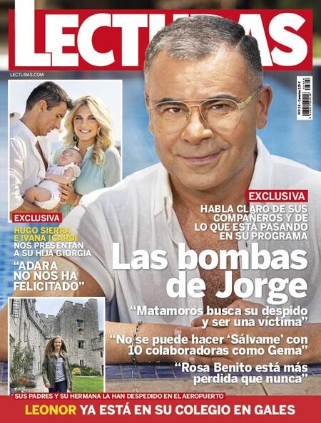 Jorge Javier Vázquez se desahoga en Lecturas