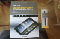 Protector de pantalla y stylus de Targus para tu iPad: A fondo