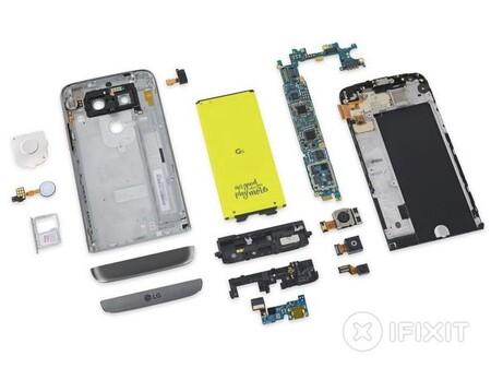 Despiece del LG G5