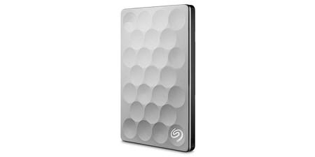 Seagate Backup Plus Ultra Slim, un disco duro portátil rápido y bonito, y hoy también barato: 62,49 euros en Amazon