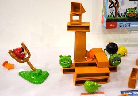 Angry Birds convertido en juego de mesa