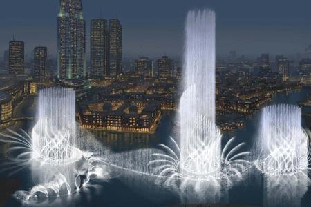 La fuente más grande del mundo, proximamente en Dubai