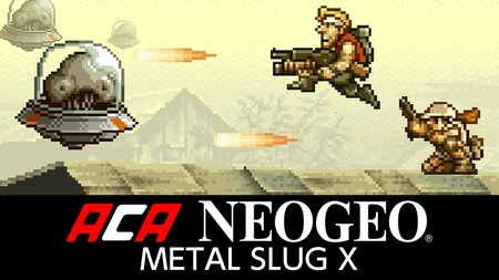 El legendario run 'n gun Metal Slug X ya está disponible en Switch a través del sello ACA NeoGeo