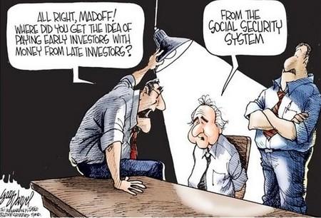 Madoff y nuestro sistema de Seguridad Social