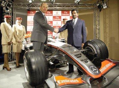 Emirates McLaren