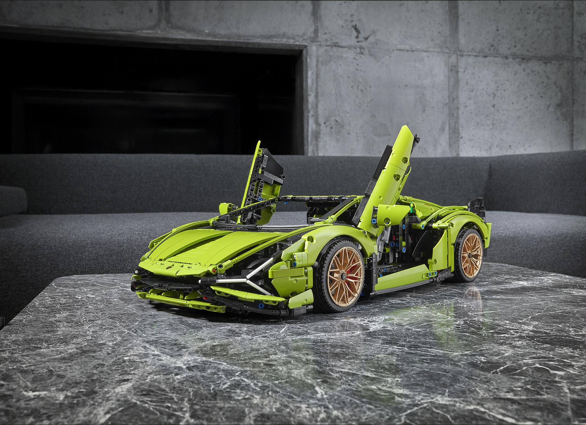 Lamborghini Sián FKP 37 de LEGO
