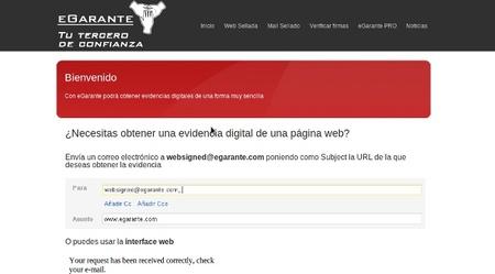EGarante, un servicio para obtener garantías digitales de forma sencilla