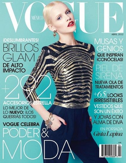 El look refinado de Gina Lapinta para Vogue México