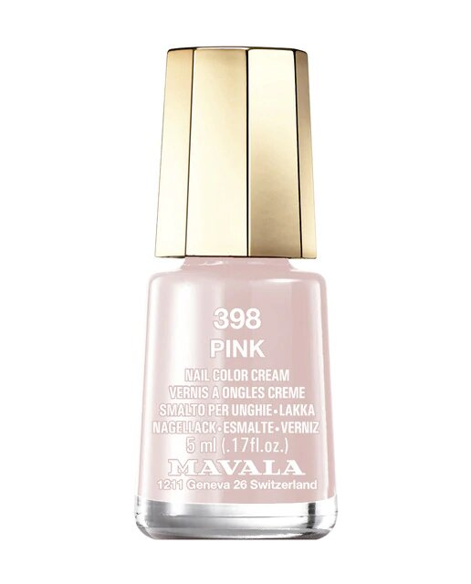Esmalte de uñas Pink 398 Mavala Color