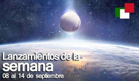 Lanzamientos de la semana en México del 08 al 14 de septiembre