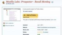 Con Recall Monkey realmente podrás buscar en tu historial de Firefox