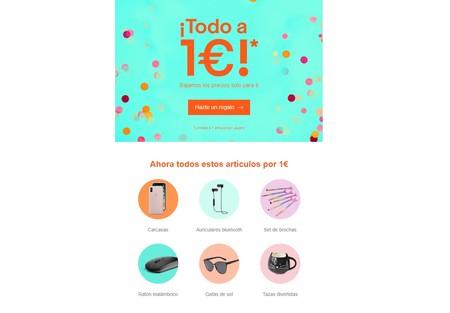 117 artículos a un euro en eBay con envío gratis: desde camisetas hasta auriculares inalámbricos