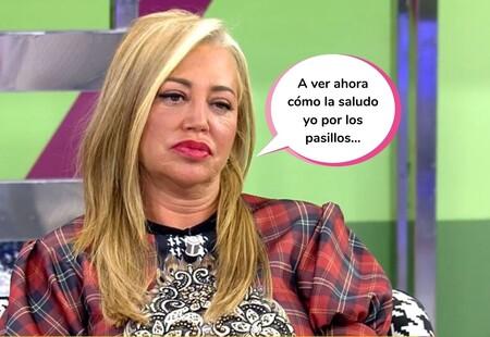Un micrófono abierto de 'Sálvame' deja en evidencia a Belén Esteban al escucharse cómo insulta a Ana Rosa Quintana