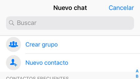 Whatsapp Iphone Crear Grupo