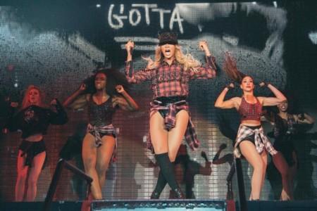 Beyoncé se queda a cuadros en su concierto de Barcelona