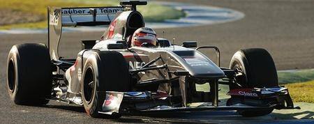 Nico Hulkenberg no entra en el Sauber C32