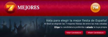 Elige las mejores fiestas de España