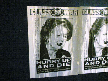 La lenta agonía de la era Thatcher