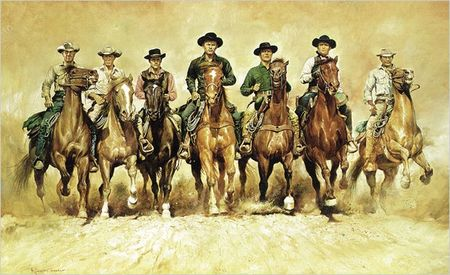 Western: 'Los siete magníficos' de John Sturges