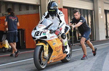 Berger fue el más rápido del Effenbert