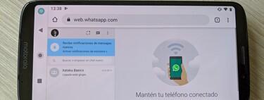 Cómo usar WhatsApp en dos móviles a la vez con su versión web