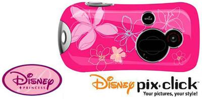 Disney Princess Pix-Click: cámara de fotos digital para niñas