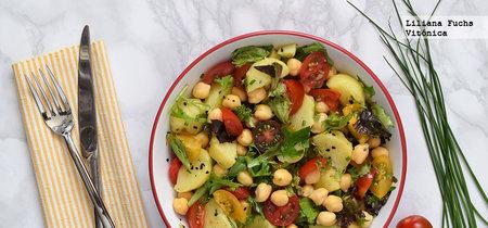 Tu dieta semanal con Vitónica: menú ideal para vegetarianos que quieren perder peso