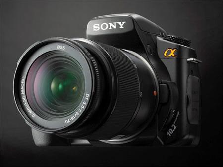 Nueva réflex de Sony: Alpha A200