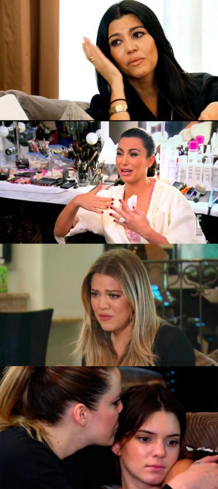Kardashian Llorando