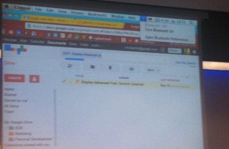 Google Drive aparece en una presentación, ¿estamos a punto de ver su lanzamiento?