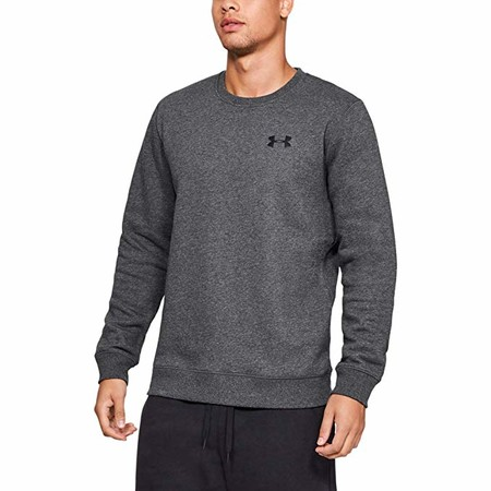 Under Armour Rival Solid Fitted Crew - Sudadera Hombre