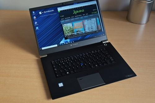 Dynabook Tecra X50-F, análisis: chasis de magnesio y pantalla brillante para el regreso a lo grande de Sharp