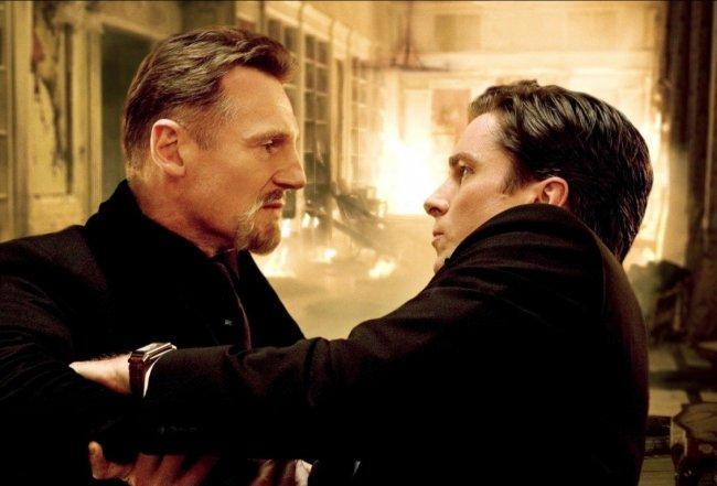 Bruce Wayne con su mentor