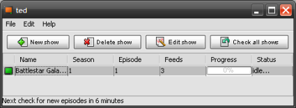 ted: Torrent Episode Downloader