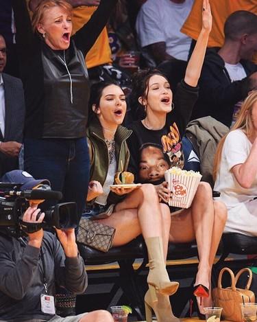 Suma y sigue: Bella Hadid y Kendall Jenner  ganan el premio a modelo del año. ¡Lo de estas chicas es un no parar!