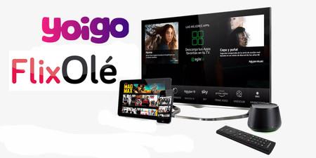 Yoigo impulsa su apuesta televisiva: ahora regala tres meses gratis de FlixOlé a todos sus clientes