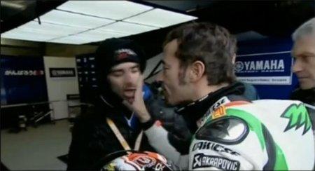 Superbikes Europa 2011: Reparto de multas para Max Biaggi y Marco Melandri por conducta antideportiva
