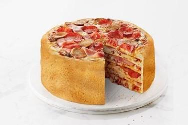 Llega la moda de la tarta de pizza (no era una inocentada)