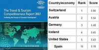 Foro Económico Mundial analiza turismo
