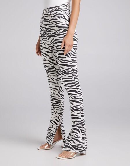 Pantalon High Waist Cadena