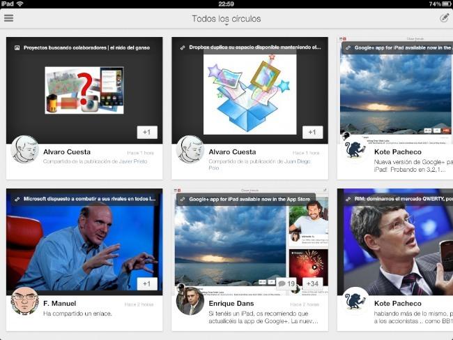 google plus ipad ios apple