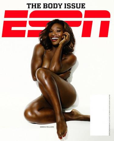 Serena Williams en pelotas para ESPN