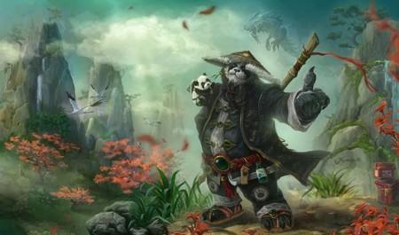 Un Pandaren pacifista de World of Warcraft ha alcanzado el nivel 120 únicamente recolectando plantas y minerales