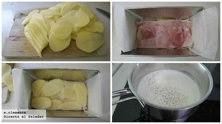 Lasaña de patata