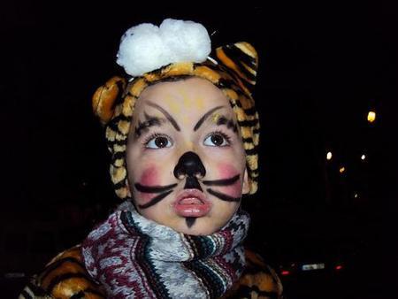 La foto de tu bebé: el tigre del Carnaval