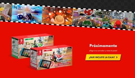 Preventa Mario Kart Live fecha oficial