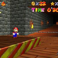 Super Mario 64: cómo conseguir las dos estrellas de la rampa secreta del castillo de la Princesa Peach