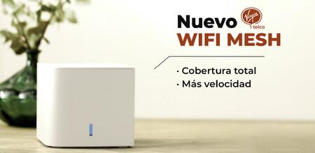 Virgin telco estrena servicio de WiFi mesh: con dos amplificadores inteligentes y desde 1 euro al mes